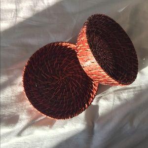 Wicker Baskets (Set of 2)